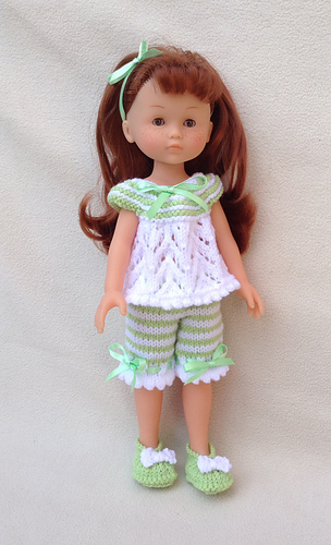 Ravelry: LC11 Pyjamas for 13 and 14 inch dolls pattern by ...