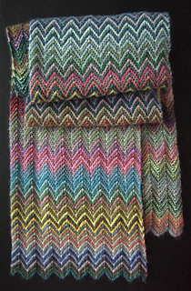 Zickzack Scarf Pattern By Christy Kamm Ravelry
