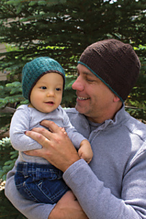 Ravelry  Father and Son Beanies pattern by Lisa Ellis 379152e0bf7