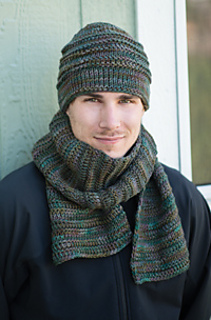 Ravelry Mountain Trail Hat And Scarf Pattern By Sheryl Thies