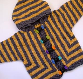 3ea3f1ec9 Ravelry  Dex s Bumblebee Sweater pattern by Jane Terzza
