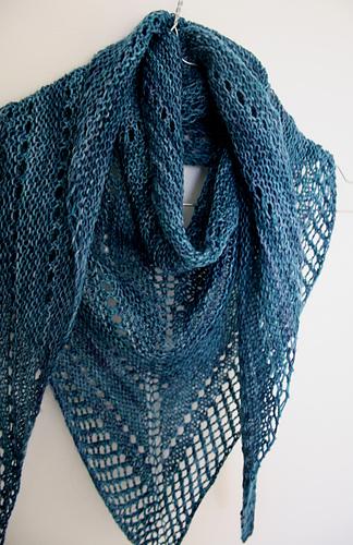 How Many Knit Stitches For A Shawl : Ravelry: Pretty Basic pattern by Janina Kallio