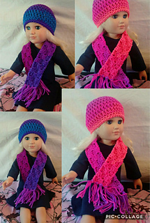 Ravelry 18 American Girl Doll Scarf Pattern By Ginger Robinson