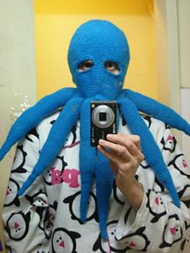 Ravelry Octopus Balaclava Pattern By Jazmo Tennant