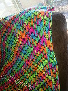 Ravelry Blacklight Blanket Pattern By J C Lindsey