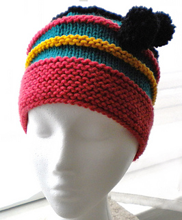 Ravelry  Scrap Yarn Hat pattern by J Beard 8ad43fefed6