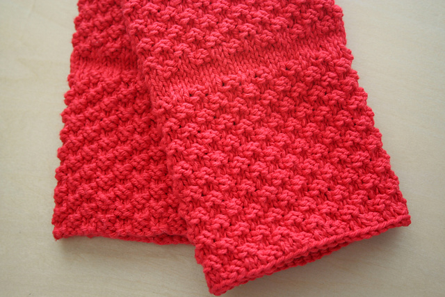 Ravelry Chili Pepper Red Kitchen Towel Pattern By Janet Carlow