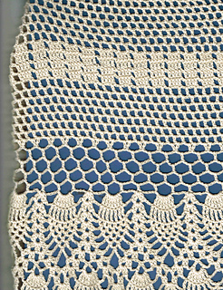 Ravelry Oval Pineapple Tablecloth Pattern By Colleen Sullivan