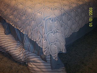 Ravelry Pineapple Bedspread Or Tablecloth 7650 A Pattern By The