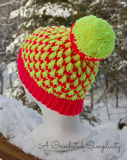 296d797ae79 Ravelry  Snow Bunny Ski Hat pattern by Jennifer Pionk