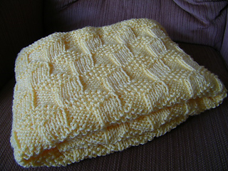 50c70a51790e Ravelry  Tumbling Blocks Baby Blanket pattern by Jenny Snedeker