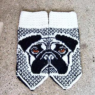 Ravelry: Cutie pugs pattern by JennyPenny