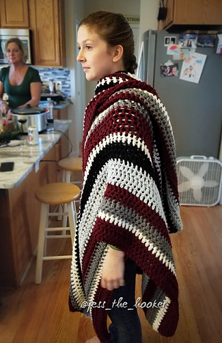 Ravelry The Maggie Ruana Pattern By Jessica Fulcher