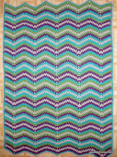 Ravelry Faded Ripple Pattern By Jessie Rayot
