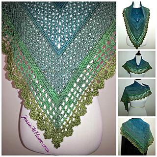 Crochet Pattern For Small Shawl : Ravelry: Juliette Shawl pattern by Jessie Rayot