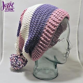 Ravelry Stripey Stocking Hat Pattern By Jessie Rayot