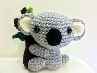 Free Amigurumi Koala Pattern : Koala anna gratis haakpatroon van mykrissiedolls amigurumi