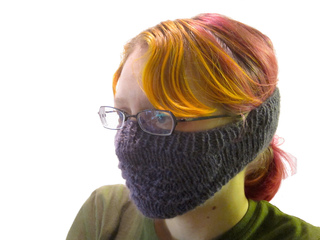 Ravelry  Old Shale Face Warmer pattern by Jonathan Beall e6deb667e869