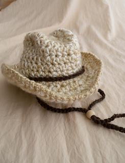 Ravelry  Baby Cowboy Hat pattern by Jodi Fluckiger 4f7200c81f7