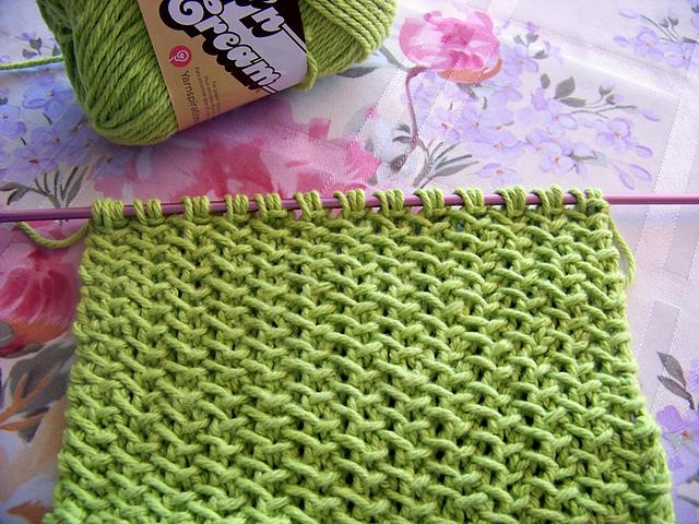 Ravelry: Kitchen Dishcloth ~ Woven Herringbone pattern by Joan Laws