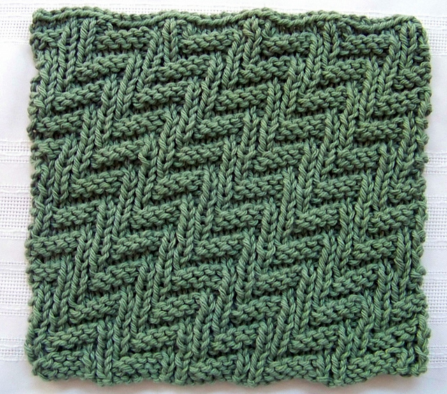 Ravelry: Kitchen Dishcloth ~ Rib and Welt pattern by Joan Laws