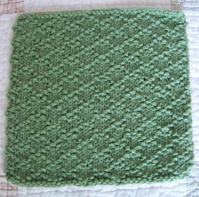 Ravelry: Kitchen Dishcloth ~ Lattice pattern by Joan Laws