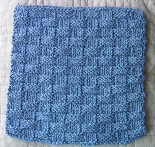 Ravelry Kitchen Dishcloth Basket Weave Pattern By Joan Laws