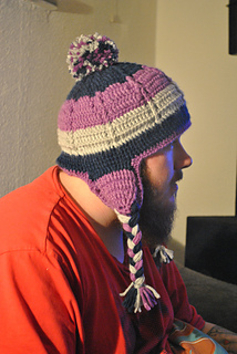 Ravelry Comfy Earflap Hat Pattern By Sharon Mann