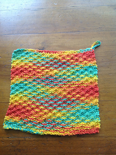 Ravelry: Super Simple Dishcloth pattern by The Knit Guru