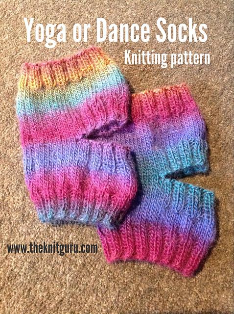 Ravelry Dance Or Yoga Socks Pattern By The Knit Guru