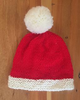 Ravelry Simple Childs Santa Hat Pattern By The Knit Guru