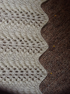 Ravelry Feather And Fan Lace Baby Blanket Pattern By