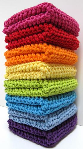 Ravelry Diagonally Knit Dishcloth Pattern By Julie M Hunt