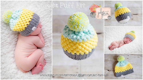 Ravelry Cupcake Puff Hat Pattern By Julie Schappert