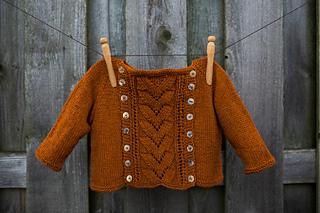 ee5aa61b5dbe Ravelry  Button-Off Baby Sweater pattern by Joanna Johnson
