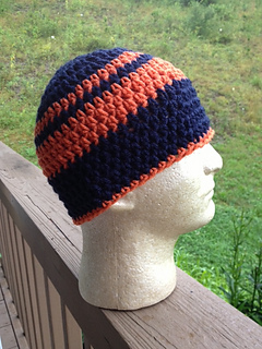 Ravelry Crochet Beanie Skull Cap Pattern By Anna Anderson