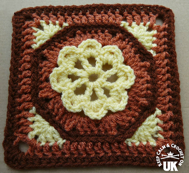 Ravelry: Octagon Garden Afghan Square pattern by Heather C Gibbs