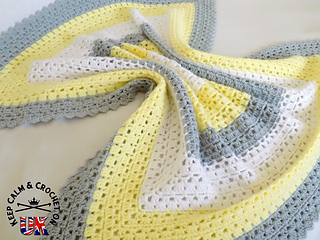 Ravelry Superbly Simple Baby Blanket Pattern By Heather C Gibbs