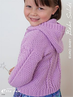 19bf675c048b Ravelry  Cable Hooded Cardigan (EY2000) pattern by Leanne Prouse