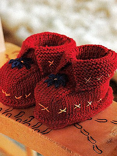 Ravelry: Bootees pattern by Debbie Bliss