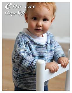 1f6445b85 Ravelry  Boys Garter Stitch Sweater pattern by Ella Rae