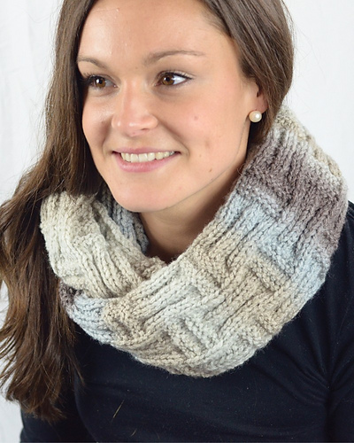 Basket Stitch Scarf PDF
