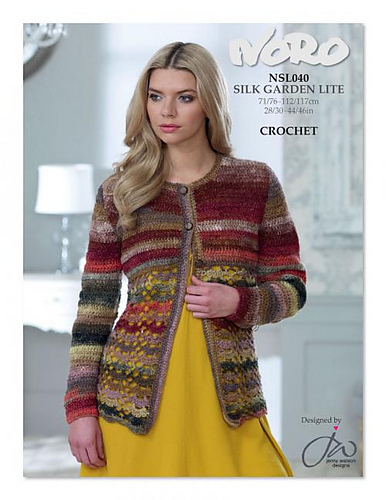 NLS040 Crochet Cardigan PDF
