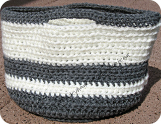 Free Crochet Pattern For Large Basket : Ravelry: Crochet Basket pattern by Katie Jakubs