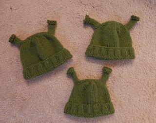 Ravelry  Shrek Hat pattern by Diana Jordan e9ad6d6ea64