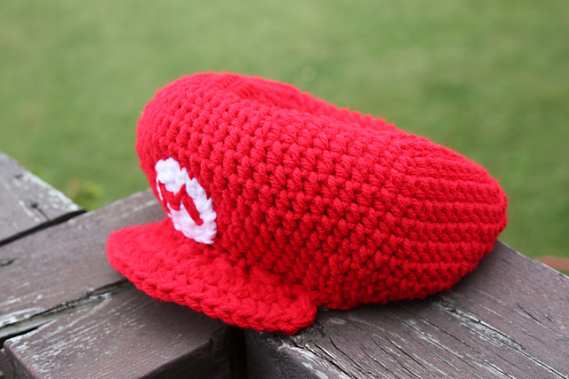 Ravelry Mario Hat Nb To Adult Sizes Pattern By Becca De Kroon