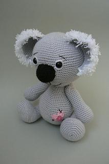 Ravelry Koala Bear Crochet Pattern Pattern By Katka