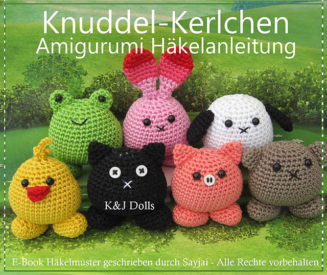 Ravelry: Knuddel-Kerlchen Amigurumi Häkelanleitung pattern by Sayjai ...