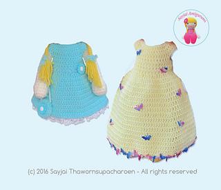 Ravelry: Honey Bunny Amigurumi Dress-Up Doll with Garden Play Mat ...   275x320