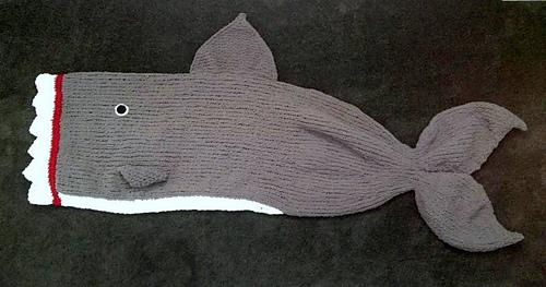 Ravelry Shark Attack Blanket Pattern By Kari Provencher
